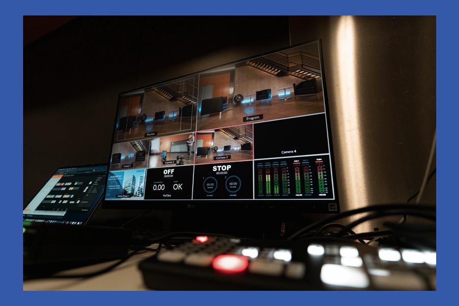 Livestream Bildmischung